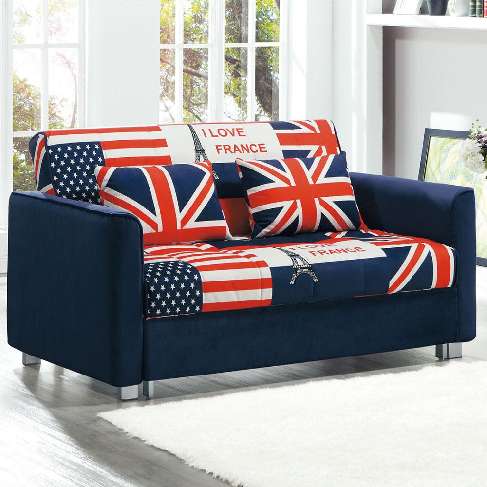 沙發床 喬伊娜 英國風多功能沙發 品家居