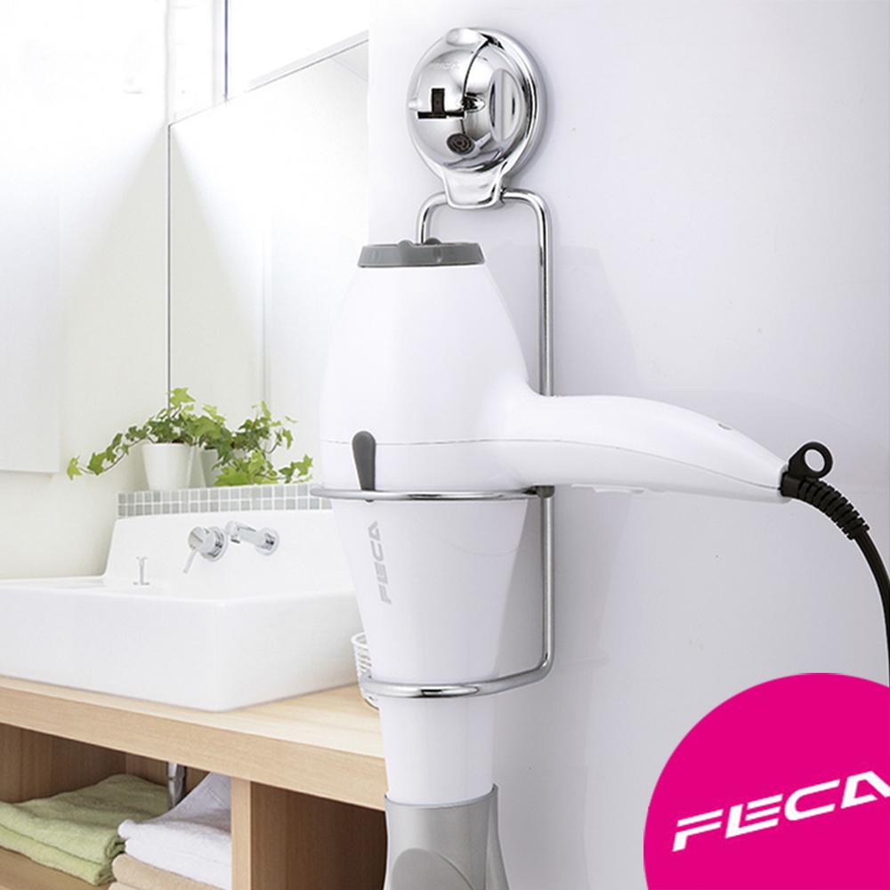 FECA非卡-無痕強力吸盤 伯爵不鏽鋼多功能架(銀)