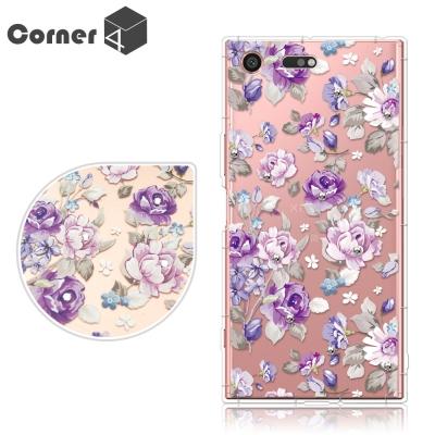 Corner4 Sony Xperia XZ Premium 奧地利彩鑽防摔手機...