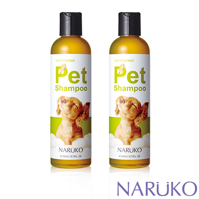 NARUKO牛爾檸檬草寵物沐浴精2入組