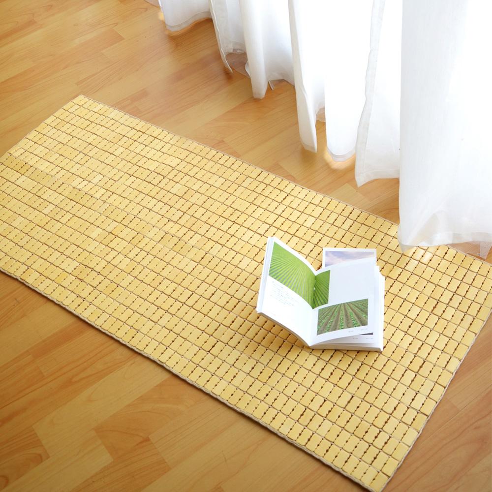 絲薇諾 天然專利麻將竹坐墊-2人座(50×110cm)