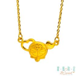 甜蜜約定 Doraemon 擁抱吧!哆啦A夢黃金項鍊