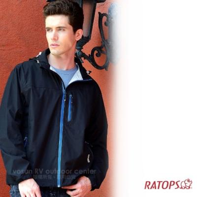 【瑞多仕】男款 2.5 layer 防水透濕夾克_RAW102 黑色 V1