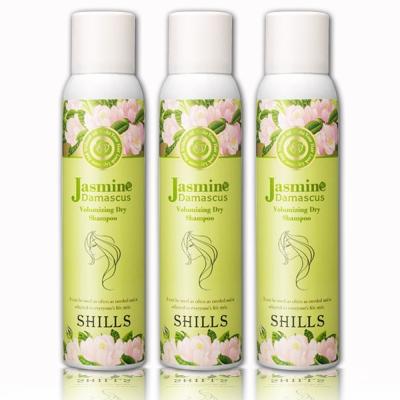 SHILLS舒兒絲 大馬士革頂級茉莉潔淨蓬鬆乾洗髮 180ml三入組