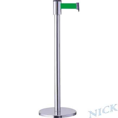NICK 四向經濟型不鏽鋼伸縮圍欄(2公尺伸縮帶)