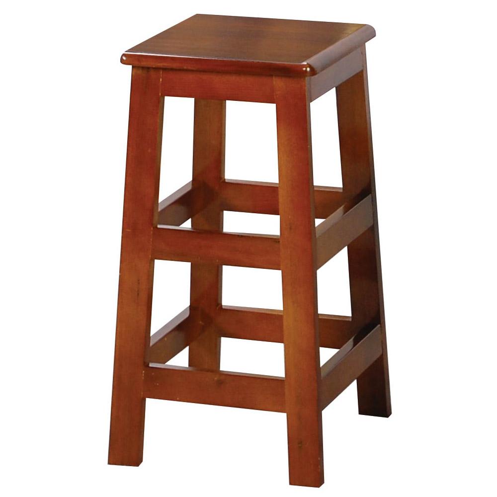 H&D 田園油木方高板凳 (寬31X深30X高60cm)