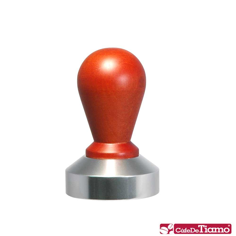 Tiamo 0914木柄鋁底填壓器58mm(HG2581)