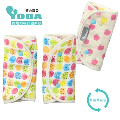 YoDa 和風輕柔日本紗鋪棉口水巾-奇幻妙妙貓