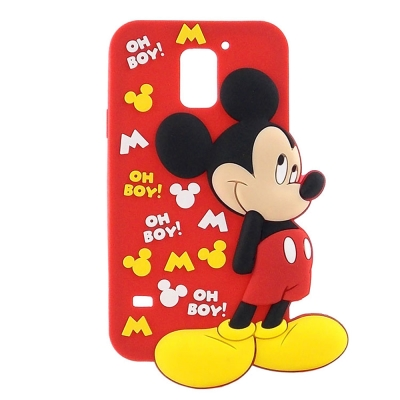 Disney Samsung Galaxy S5 米奇全身2D立體保護套