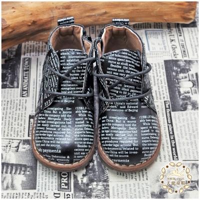WhiteAngel天使童鞋-H8002 紐約潮流經典短靴