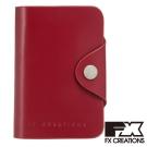 FX CREATIONS JCW系列 扣式皮夾 紅 JCW55780-89