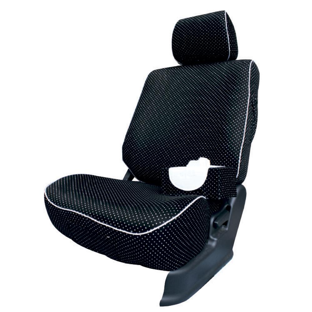 【葵花】量身訂做-汽車椅套-布料-黑珍珠-休旅車-6-8人座款1+2+3排