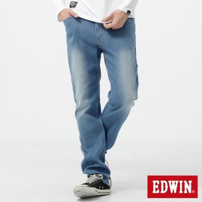 EDWIN 中直筒 503FLEX牛仔褲-男-漂淺藍