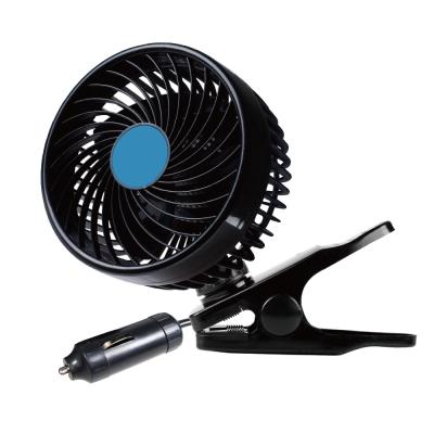 【酷樂】5吋渦流循環風扇 車用DC12V 無級變速調整 連續700小時不過熱