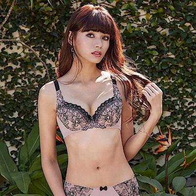 曼黛瑪璉 Hibra大波內衣  E-G罩杯(優雅褐)