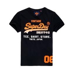 SUPERDRY 極度乾燥 短袖 文字T恤 黑色 375