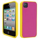Ozaki iPhone 4 / 4S  iCoat Sillicone+ 雙色矽膠保護套