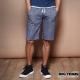 BIG TRAIN 和柄棉質短褲-男-深藍 product thumbnail 1