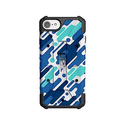 美國軍規 UAG iPhone 耐衝擊保護殼(客製藍彩款)