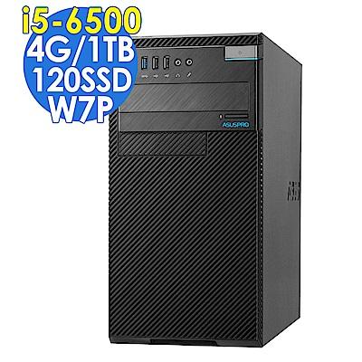 ASUS D520MT i5-6500/4G/1T+120GSSD/W7P