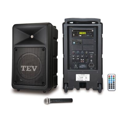 TEV CD/USB/SD單頻無線擴音機 TA680iC-1