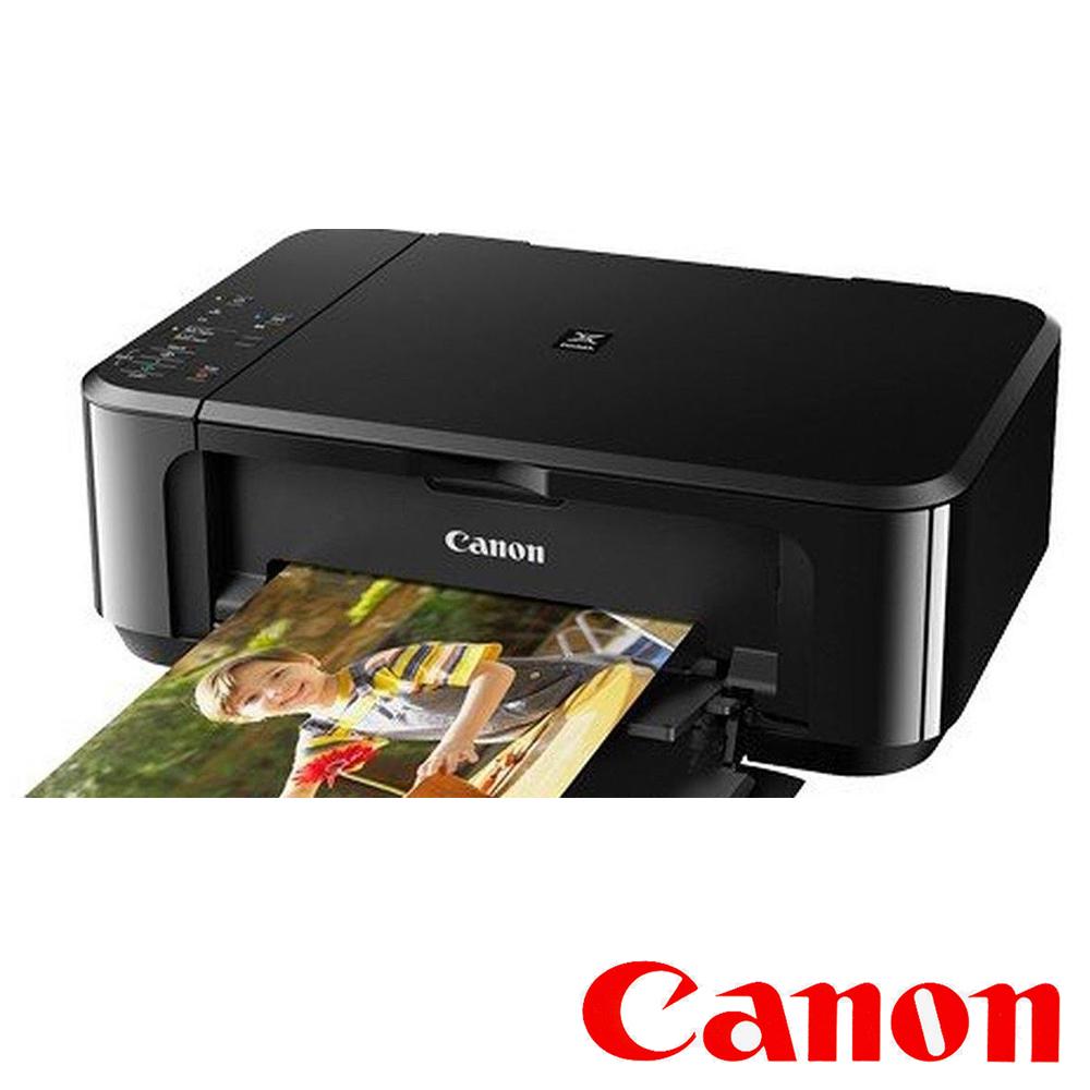 Canon MG3670 三合一多功相片Wi-Fi複合機(黑)