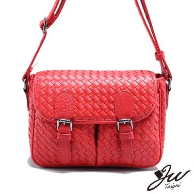 JW-木蘭蒂絲時尚編織紋肩背包-共二色