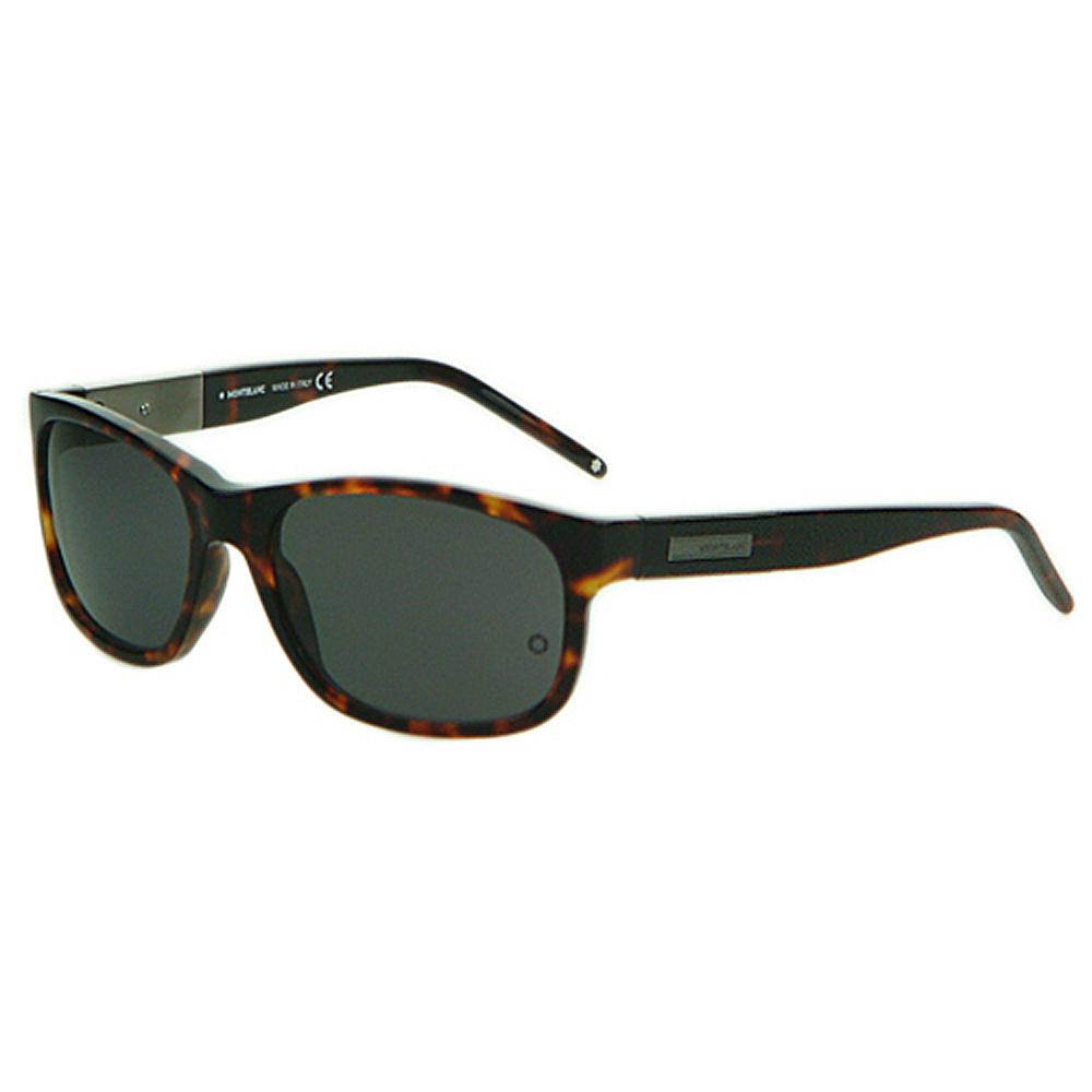 萬寶龍 MONTBLANC-時尚太陽眼鏡 (MB-54A)琥珀色