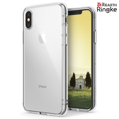 Ringke iPhone X [Fusion] 透明背蓋防撞手機殼