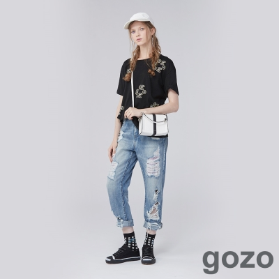 gozo酷玩圖樣短T(三色)