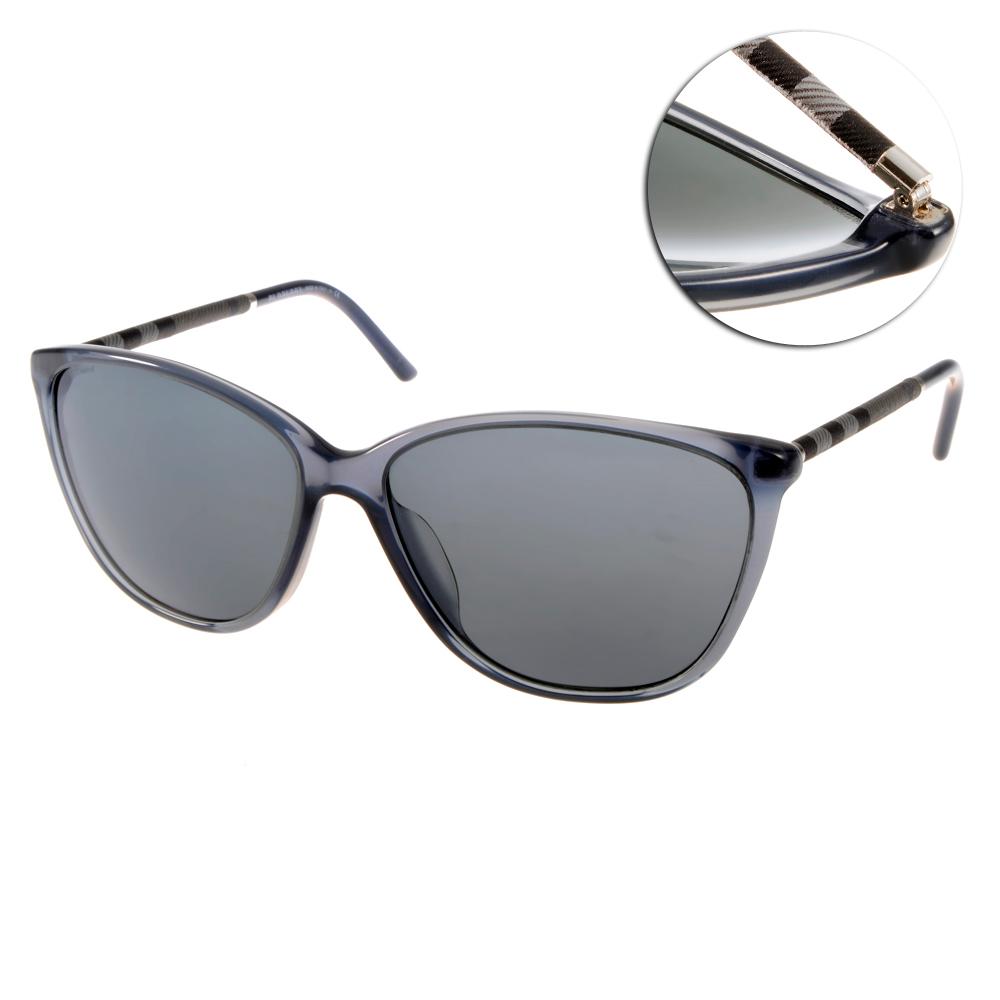 BURBERRY太陽眼鏡 歐美風範/藍#BU4117A 3013