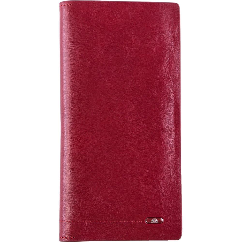TONY PEROTTI 義大利公牛皮 無車縫系列 長夾 ( 紅色 ) @ Y!購物