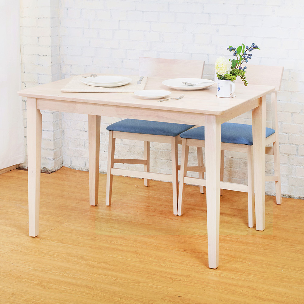 Boden-萊爾3.7尺實木餐桌-110x70x75cm