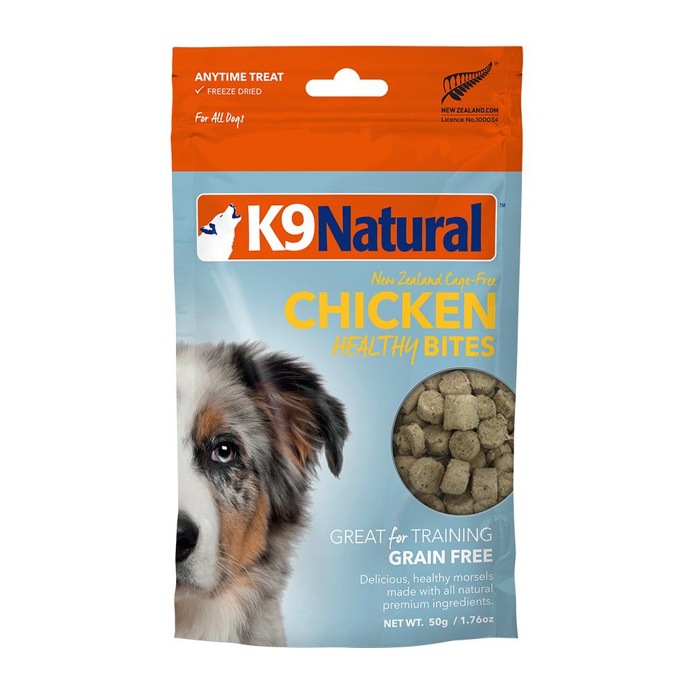 紐西蘭 K9 Natural 訓練零食 -雞肉口味-50g