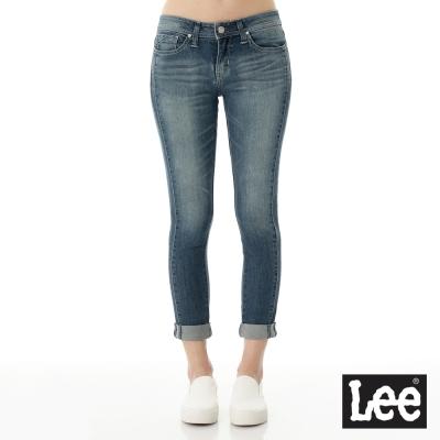 Lee 牛仔褲Jade Fusion冰精玉石 329低腰合身七分窄管-女款
