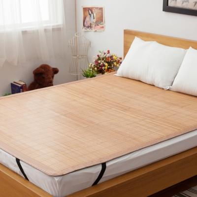 LAMINA 平單式碳化竹蓆 6x6尺 加大