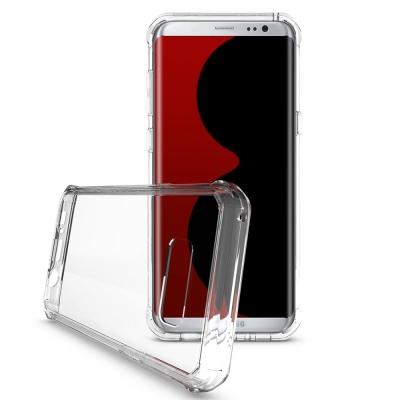 透明殼專家SAMSUNG S8 PC+TPU全包覆防摔殼