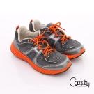 Comphy 3D氣動鞋 全真皮透氣網布運動男鞋 深灰色
