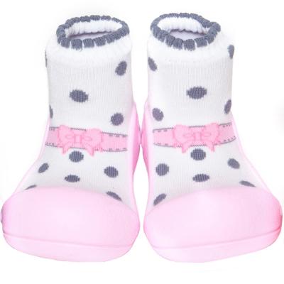 韓國 Attipas 學步鞋正廠品質有保證 尺寸齊全AB02-芭雷粉紅