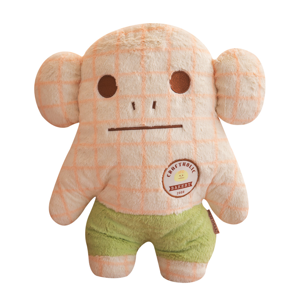 CRAFTHOLIC 宇宙人 人氣菠蘿猴寶貝枕