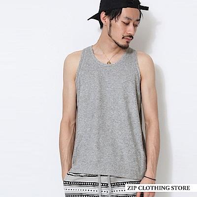 百搭基本款素面背心(6色) ZIP日本男裝