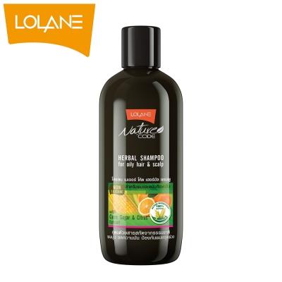 LOLANE蘿瀾 自然代碼草本洗髮精-油性頭髮&頭皮(280ml)