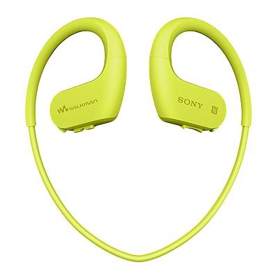 [福利品]SONY NW-WS623 綠色 防水無線隨身聽耳機