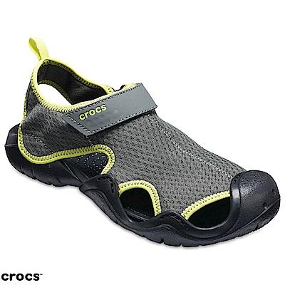 Crocs 卡駱馳 (男鞋) 激浪涉水涼鞋15041-08I