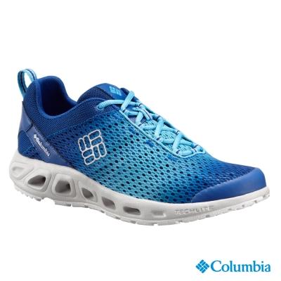【美國Columbia哥倫比亞】輕量水陸兩用鞋-男-藍(UBM26670AB)