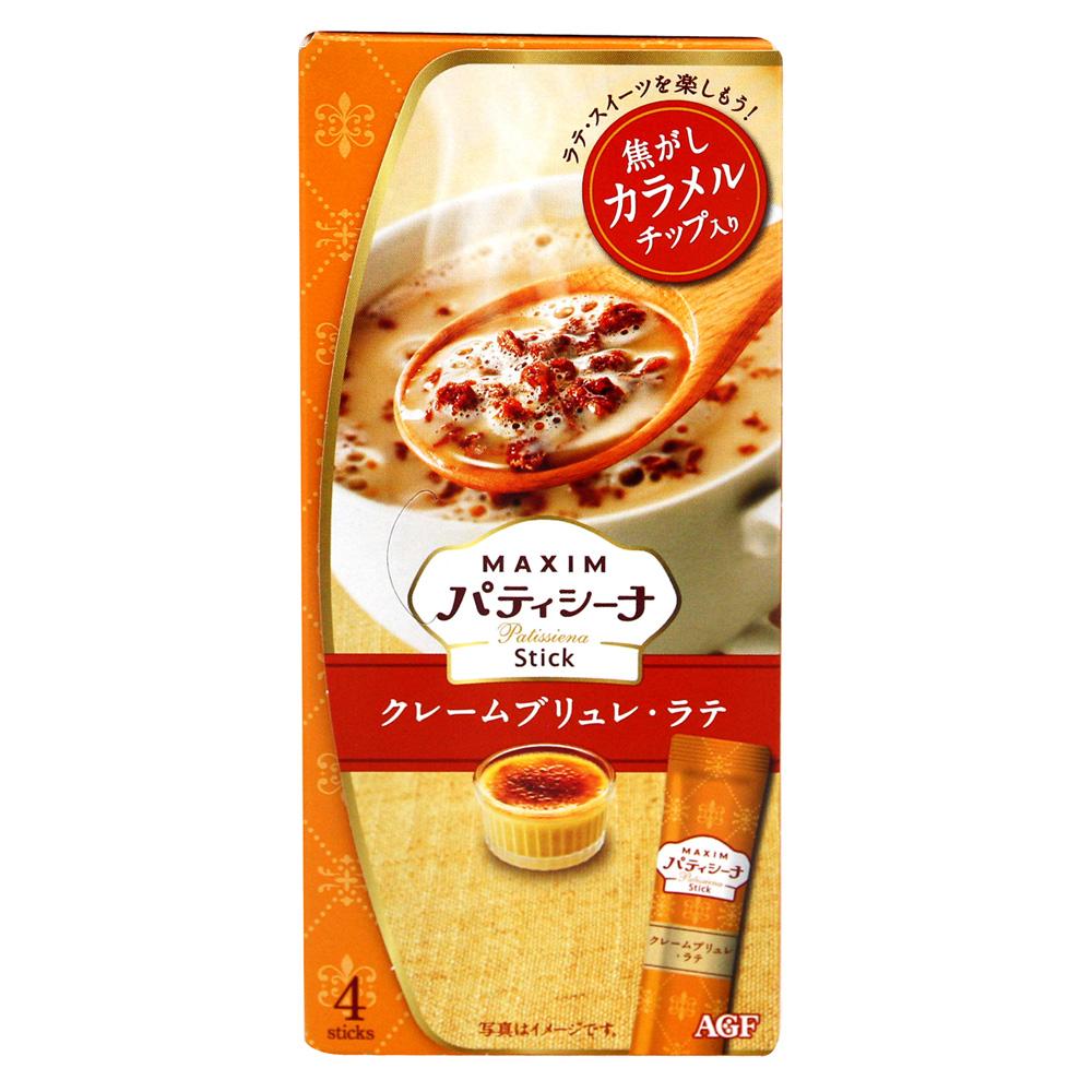 AGF MAXIM sweet奶泡-焦糖布丁拿鐵(4P)