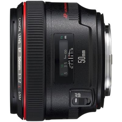 Canon EF 50mm f/1.2L USM 超大光圈標準鏡頭(公司貨)拭鏡清潔組