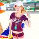 泳衣 個性活力 三件式比基尼泳裝(紫M.XL) AngelHoney天使霓裳 product thumbnail 1