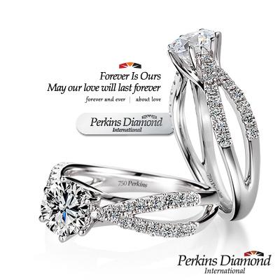 PERKINS 伯金仕 - GIA 夏綠蒂系列 <b>1</b>克拉F/VS2 鑽石戒指