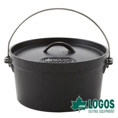 【日本LOGOS】SL豪快魔法調理荷蘭鍋10吋(附袋)-81062229
